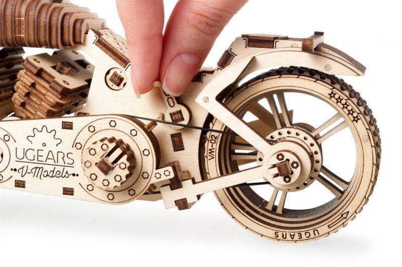 motocykl vm-02 zdjęcie mechanizmu