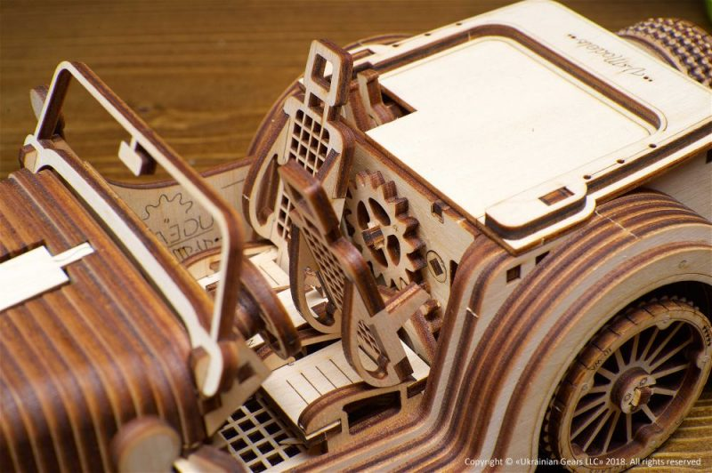 roadster vm-01 w środku