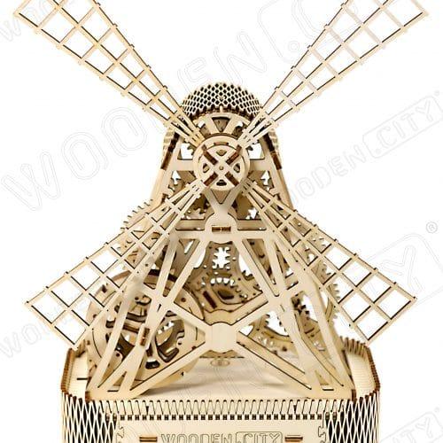 wooden city wiatrak prezentacja