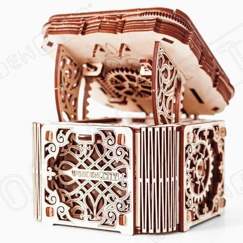 wooden city tajemnicza szkatułka prezentacja