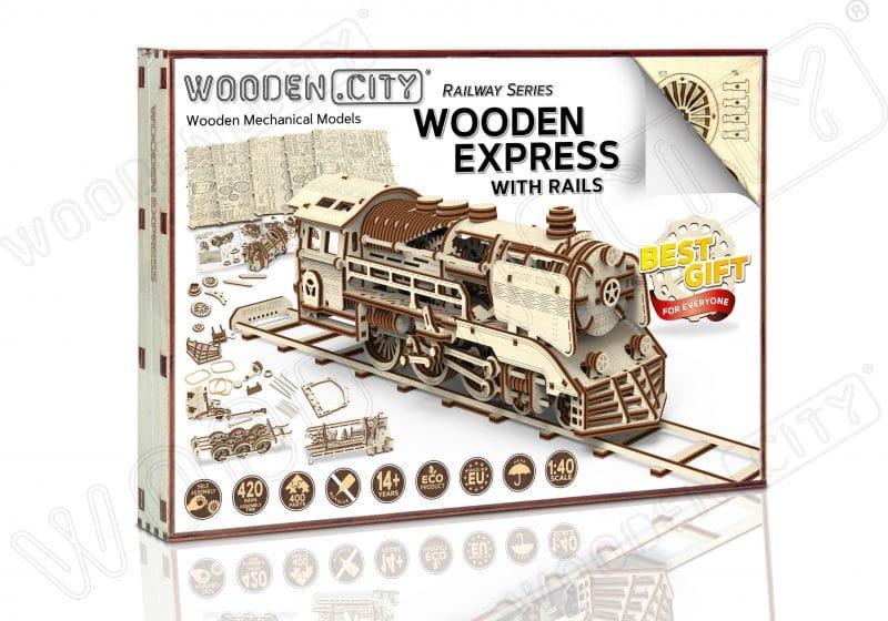 wooden city express +tory opakowanie