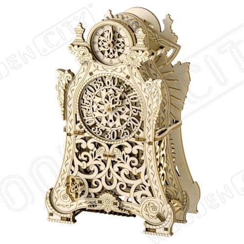 wooden city magiczny zegar zdjęcie prezentacyjne