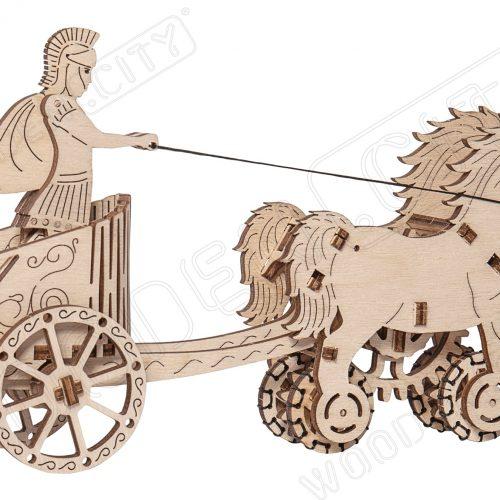 wooden city rydwan rzymski prezentacja