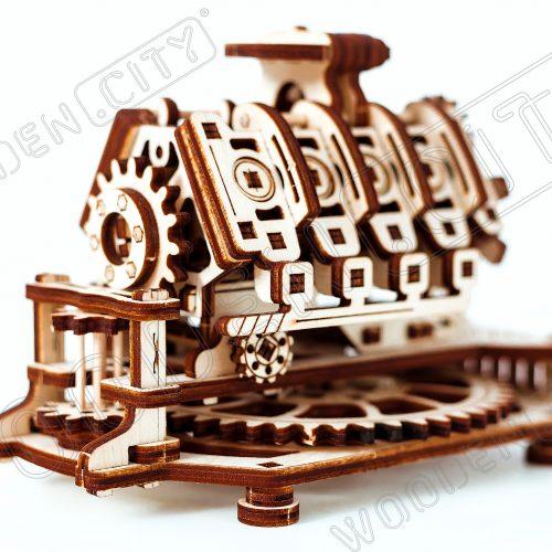 wooden city silnik v8 prezentacja