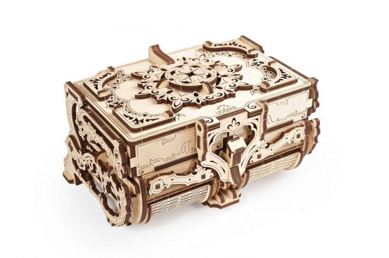 ugears antyczna szkatułka prezentacja