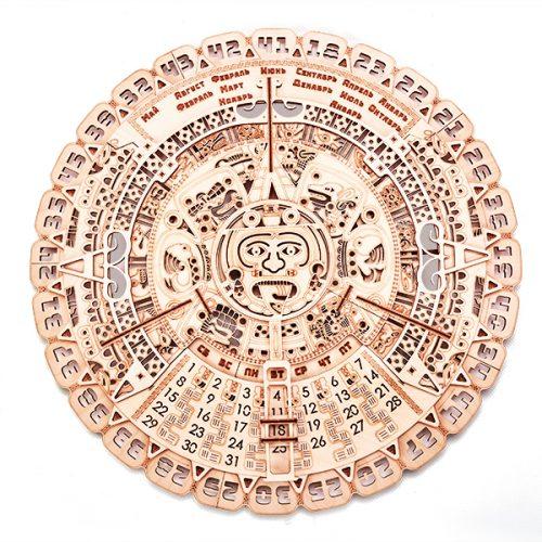 wood trick kalendarz majów prezentacja