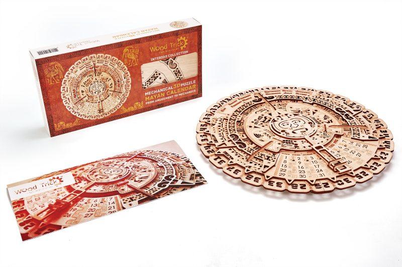 wood trick kalendarz majów opakowanie