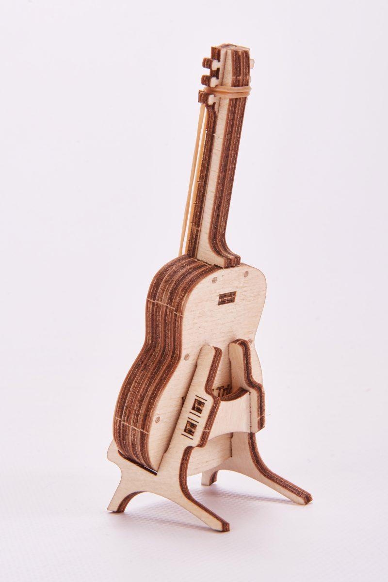 wood trick gitara z tyłu