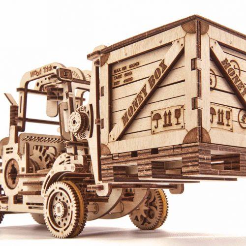 wood trick wózek widłowy prezentacja