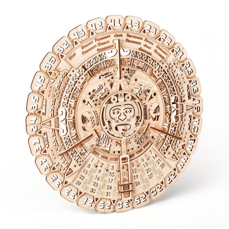wood trick kalendarz majów w pionie
