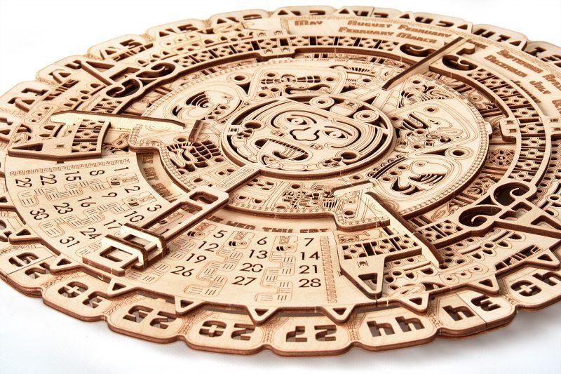 wood trick kalendarz majów z bliska