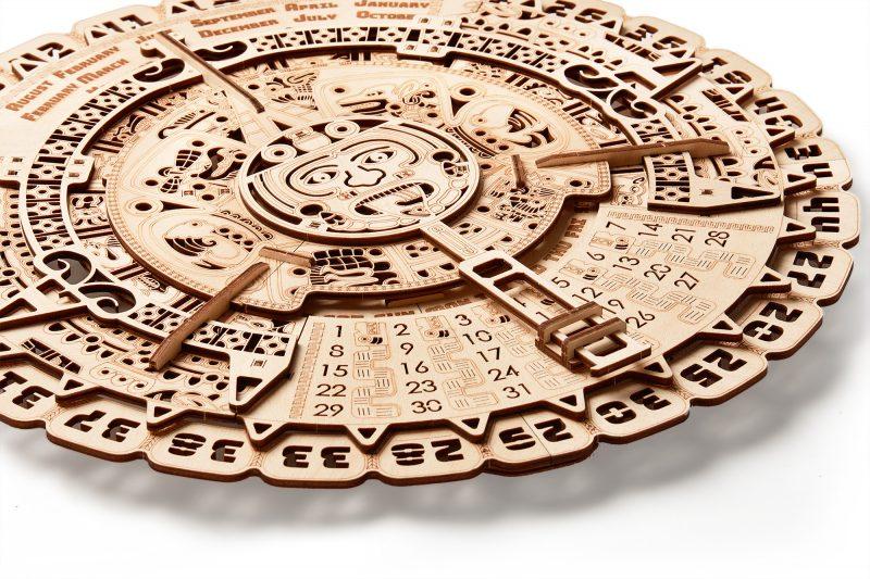 wood trick kalendarz majów leżacy