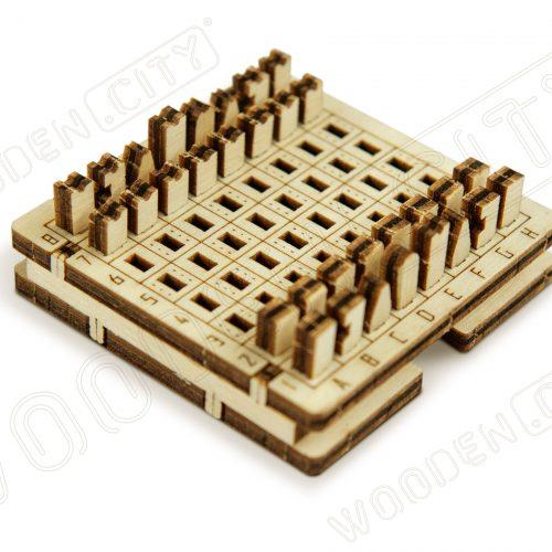 wooden city podróżne szachy prezentacja