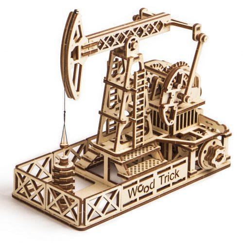 wood trick wieża wiertnicza ropy naftowej prezentacja