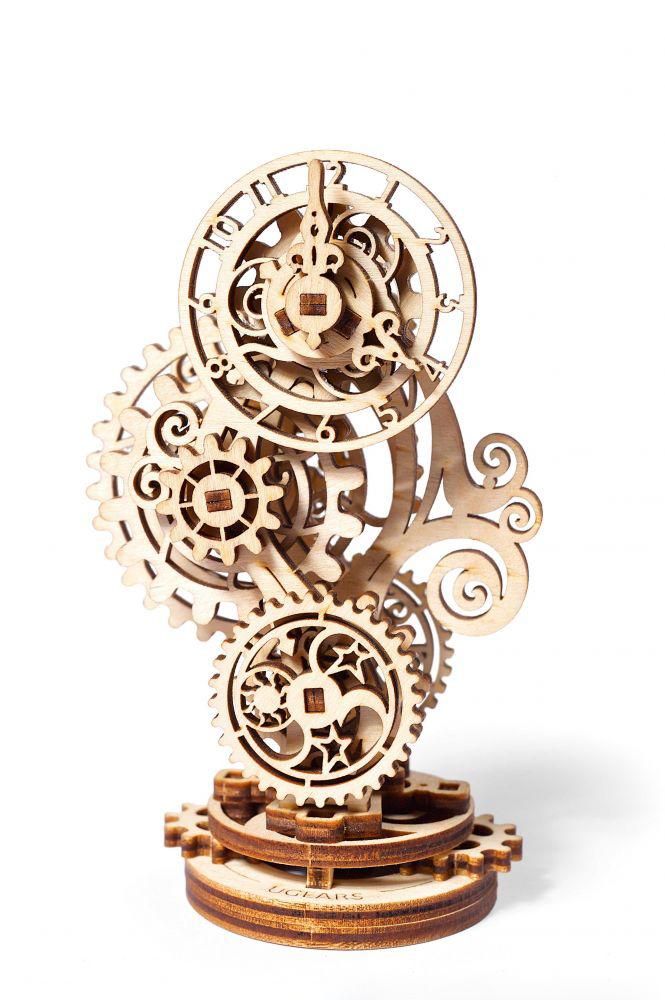 ugears zegar steampunk prezentacja
